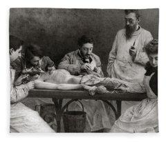 Autopsy Fleece Blanket