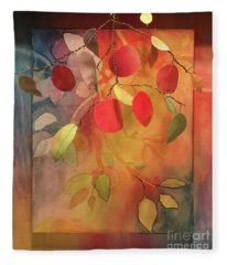 Autumn Apples 3d Fleece Blanket