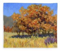 Autumn Blaze Fleece Blanket