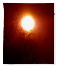 Autumn Burns The Memory Fleece Blanket