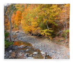 Autumn Creek  1 Fleece Blanket