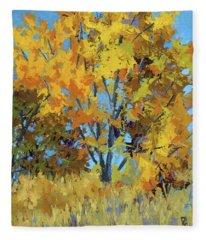 Autumn Delight Fleece Blanket
