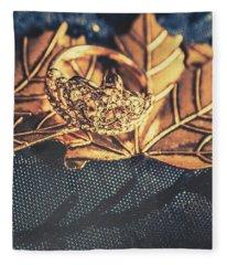 Autumn Fashion Diamonds Fleece Blanket