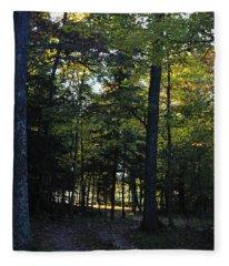 Autumn Glen Fleece Blanket