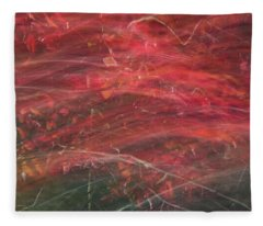 Autumn Graphics II Fleece Blanket