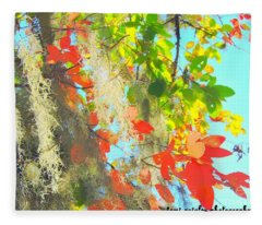 Autumn In Dixie  Fleece Blanket