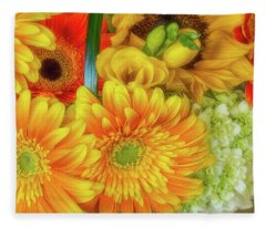 Autumn In Our Home Fleece Blanket