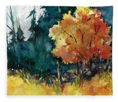 Autumn In The Ozarks Fleece Blanket