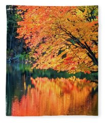 Autumn Magic Fleece Blanket
