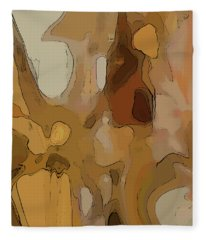 Autumn Melange Fleece Blanket