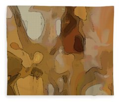 Autumn Melange Fleece Blanket