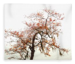 Autumn Mirage Fleece Blanket