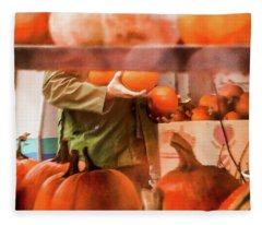 Autumn Plenty -  Fleece Blanket