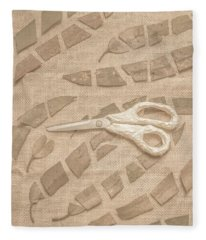 Autumn Refraction Fleece Blanket