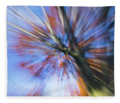 Autumn Splash Fleece Blanket