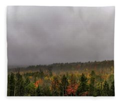 Autumn Storm Fleece Blanket