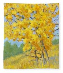 Autumn Tree Fleece Blanket