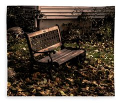 Autumnal Solace Fleece Blanket