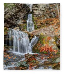 Autumns End Fleece Blanket