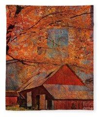Autumn's Slate 2015 Fleece Blanket