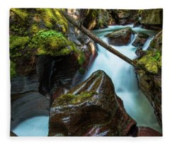 Avalanche Creek Fleece Blanket