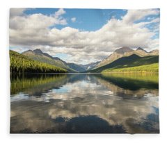 Avenue To The Mountains Fleece Blanket