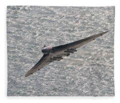 Avro Vulcan Fleece Blanket