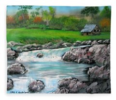 Awesome Creek Fleece Blanket