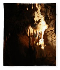 Awesome Formations - Cave Fleece Blanket
