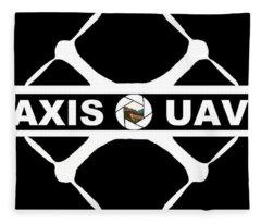 Axis Uav Fleece Blanket