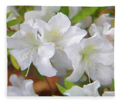 Azalea Festival I Fleece Blanket