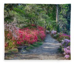 Azalea Path Fleece Blanket
