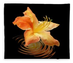 Azalea Ripples Fleece Blanket