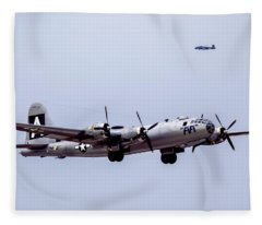 B-29 Superfortress Fleece Blanket