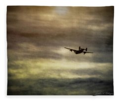 B24 In Flight Fleece Blanket
