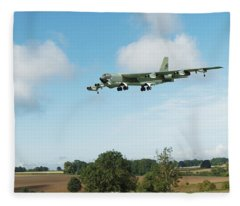 B52 Stratofortress Fleece Blanket