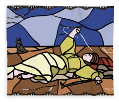 Babie Lato Stained Glass Version Fleece Blanket