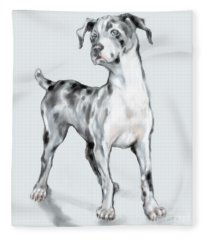 Baby Dane Fleece Blanket