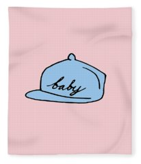 Baby Hat 2 Fleece Blanket