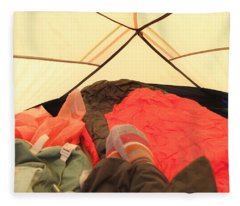 Backpacking Moments Fleece Blanket