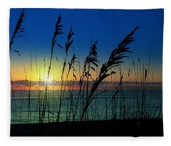 Bad Sea Oats  Fleece Blanket