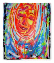Baddreamgirl Fleece Blanket