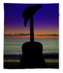 Badguitar  Fleece Blanket
