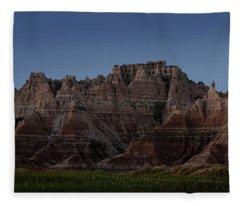 Badlands Moon Rising Fleece Blanket