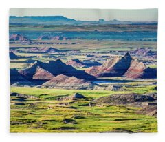 Badlands National Park Fleece Blanket