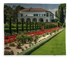 Baha'i Gardens 1 Fleece Blanket