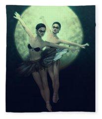 Bailarinas Malditas  Fleece Blanket