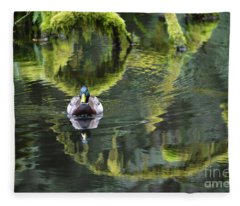 Bainbridge Duck Fleece Blanket