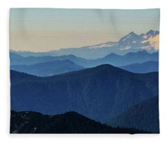 Baker From Pilchuck Fleece Blanket