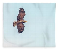 Bald Eagle 0834-121217-1cr Fleece Blanket
